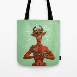 Spring Demon Tote Bag