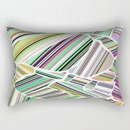 Birdview | green Rectangular Pillow