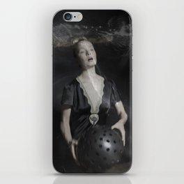 Venus strange bizarre woman weird photography color digital occult spell mystic photo orb haunting iPhone Skin