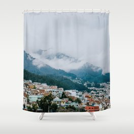 Landscape Photography by Vince Fleming Shower Curtain