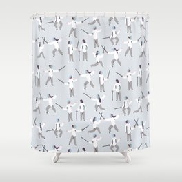 Fencing Shower Curtain