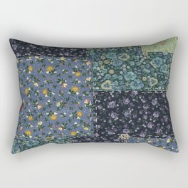 Faux Country Quilt Rectangular Pillow