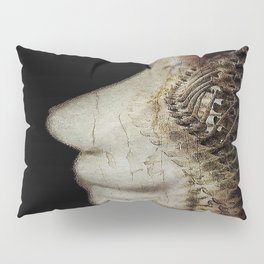 Flesh and Bone Suspended ~ Vertical Image Pillow Sham