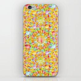Circus Rainbow Mandala iPhone Skin