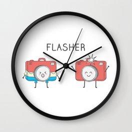 Flasher Wall Clock