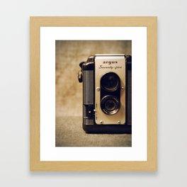 Argus Twin Lens. Framed Art Print