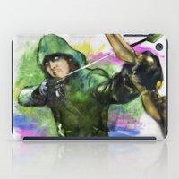 arrow iPad Cases featuring arrow by evenstarss