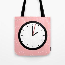 #33 Clock Tote Bag