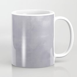 Burst of Color Pantone Lilac Gray Abstract Watercolor Blend Coffee Mug