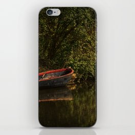 Dinghy On The Oxford Canal iPhone Skin