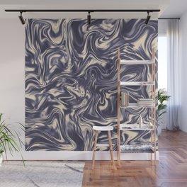 Liquid Halftone Painting Wall Mural