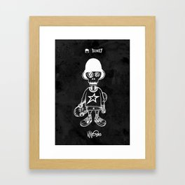 BONEY Skateboarding series - 01 Framed Art Print