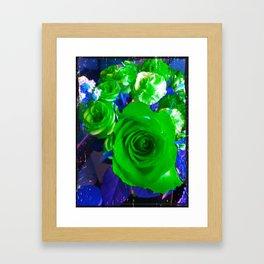 Electric Beauty Framed Art Print
