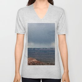 Thunderstorm coming over Bryce Canyon Unisex V-Neck