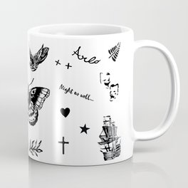 Harry's Tattoos Two Coffee Mug