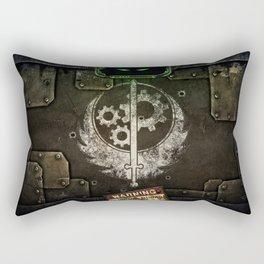 Brotherhood of Steel Rectangular Pillow