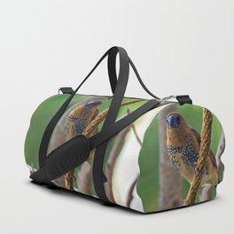 Nutmeg Mannikin Duffle Bag