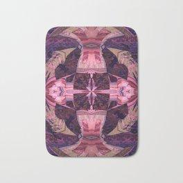 Magenta Power Portal Mandala Bath Mat