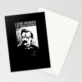 DEATH GRIPS // FRIEDRICH NIETZSCHE Stationery Cards