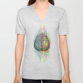 The Mind - Brain Dichotomy Unisex V-Neck