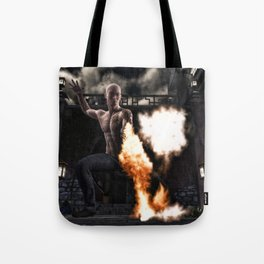 Kung Fu Man Tote Bag