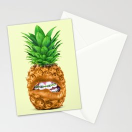 PINEAPPLE LIPS Stationery Cards