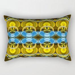 Blue Moon 2 Rectangular Pillow