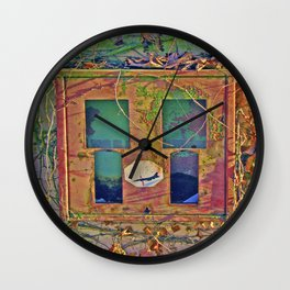 Retro 70´s Bubble Gum Box Stop Pershing  Wall Clock