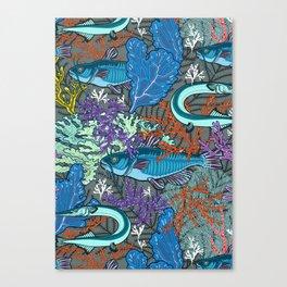 aquarium life Canvas Print