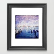 Venetian Fog Venice Italy Travel Photography Framed Art Print