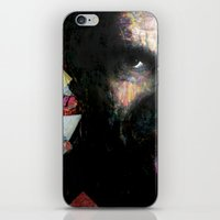 johnny cash iPhone & iPod Skins featuring Johnny Cash by Glen Ronald