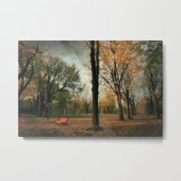 Fall's Crescendo Metal Print