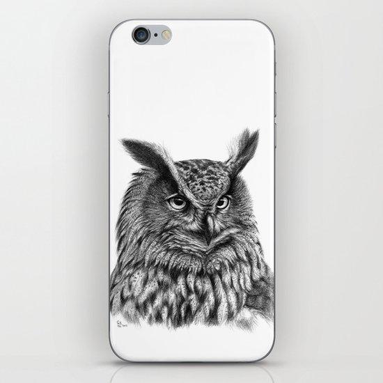 Eurasian Eagle Owl iPhone Skin