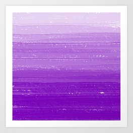 Violet Paint Gradient Art Print