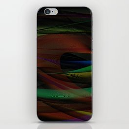 Lines and Illusion iPhone Skin
