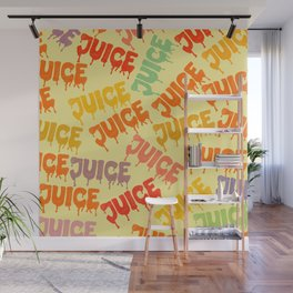 Juice Love Wall Mural