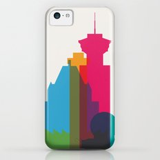 Shapes of Vancouver. Accurate to scale. iPhone 5c Slim Case