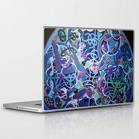 celtic Laptop & iPad Skins featuring Celtic Knot by Abundance