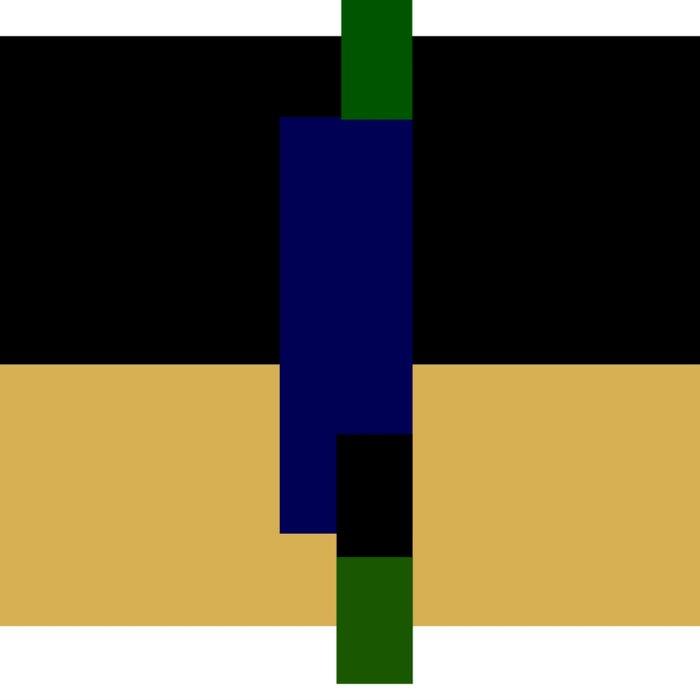 rectangle play Duvet Cover