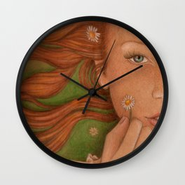 Spring Maiden Wall Clock