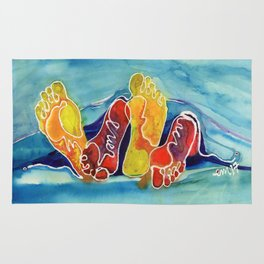 Our Feet Rug