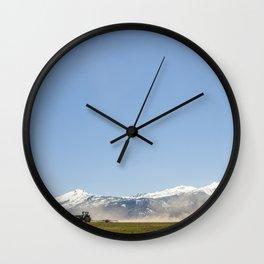Harrowing Times In Oregon Wall Clock