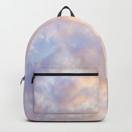 Pink sky / Photo of heavenly sky Backpack