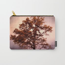 Coral Pink Sunrise Cotton Field Tree - Landscape  Carry-All Pouch
