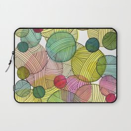 Yarn Stash Laptop Sleeve