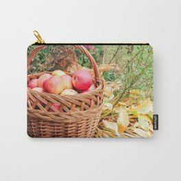 Basket with apples. Carry-All Pouch