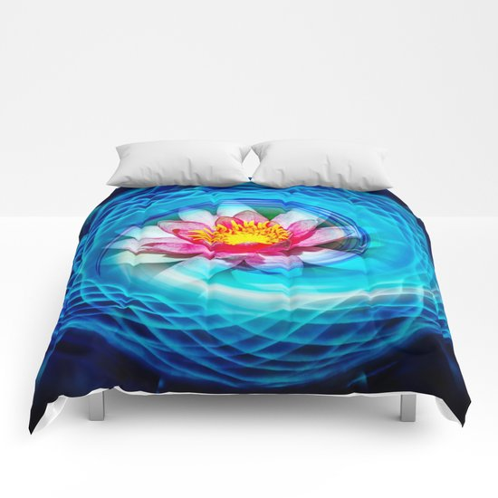 Wellness Water Lily Comforters