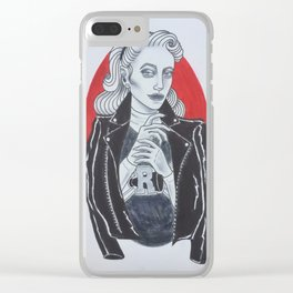 Betty Cooper // Riverdale Clear iPhone Case