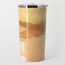 Peru colored watercolor design Travel Mug