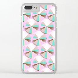 Neopolitan Clear iPhone Case